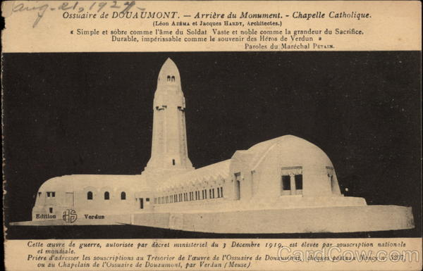 Douaumont Ossuary - Catholic Chapel France