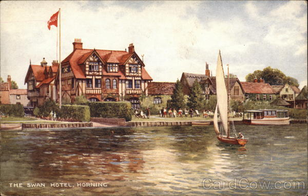The Swan Hotel Horning England Norfolk