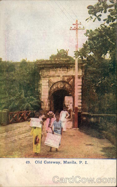 Old Gateway Manila Philippines Southeast Asia