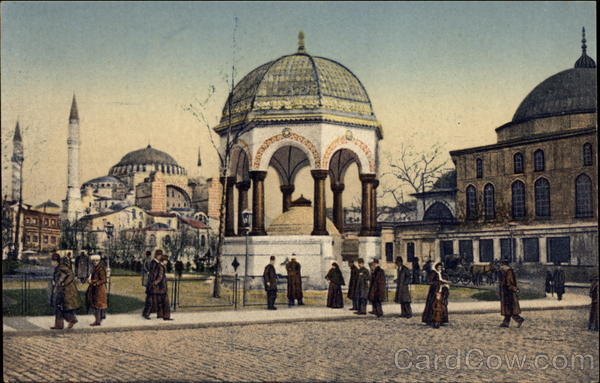 Fontaine Guillaume II et Ste. Sophie Istanbul Turkey