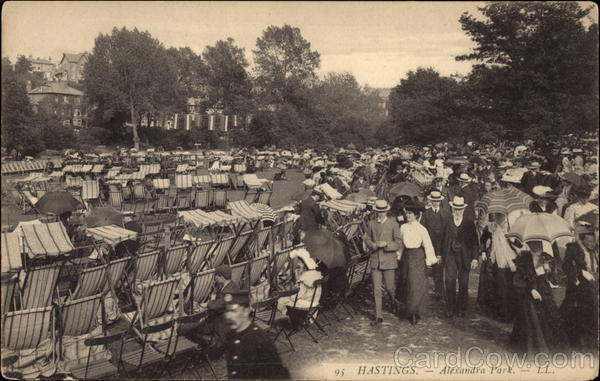 Alexandra Park Hastings England Sussex