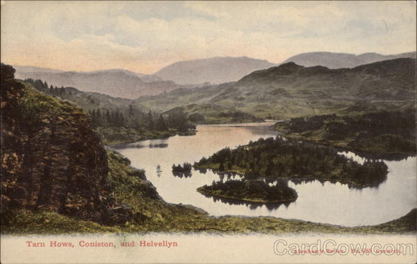 Tarn Hows, Coniston and Helvellyn Lake District England