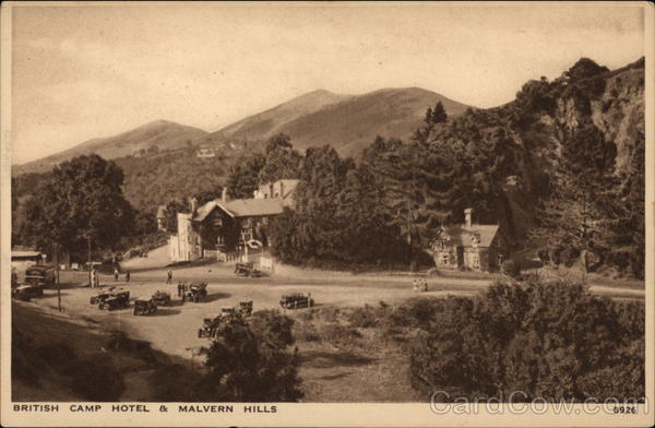 British Camp Hotel & Malvern Hills Great Malvern England