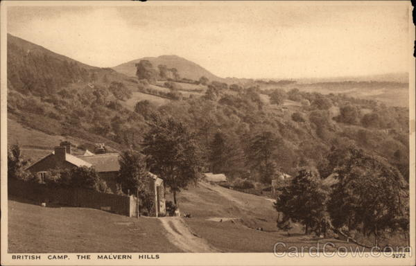 British Camp, The Malvern Hills Great Malvern England