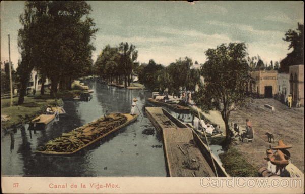 Canal de la Viga Mexico City