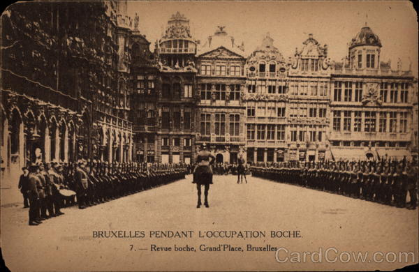 Revue at Grand Palace Brussels Belgium Benelux Countries