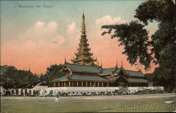 The Palace Mandalay Myanmar Southeast Asia