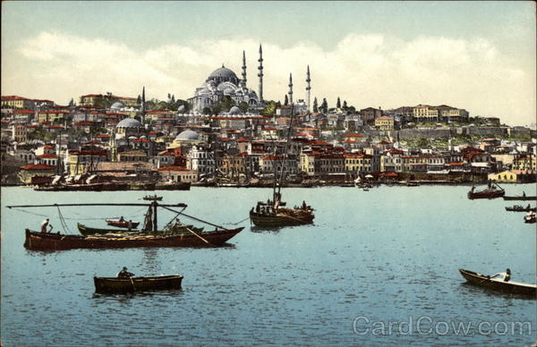Istambul and the Golden Horn Istambul (formerly Constantinople) Turkey