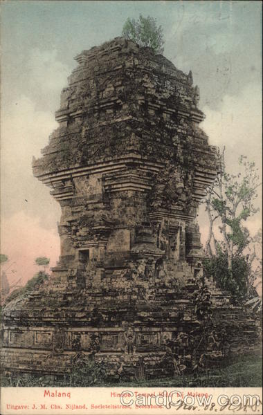 Hindu Temple on Malang Indonesia Southeast Asia