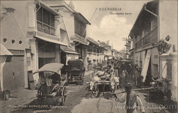 Surabaya Street View Surabaya (formerly Soerabaja) Indonesia