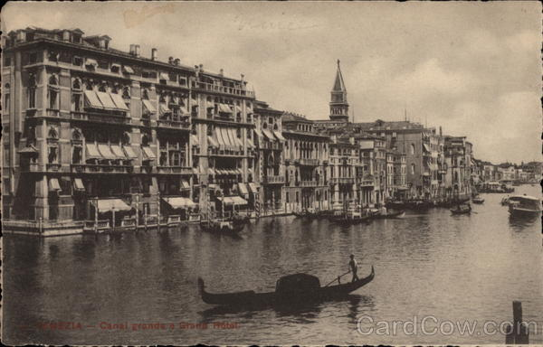 Grand Canal & Grand Hotel Venice Italy