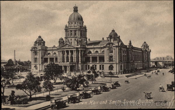 Town Hall and Smith Street Durban South Africa