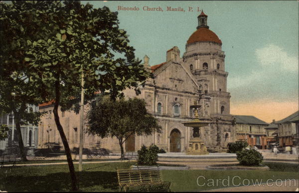 Binondo Church Manila Philippines Southeast Asia