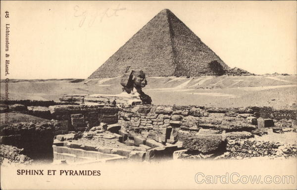 The Sphinx and Pyramids Cairo Egypt Africa