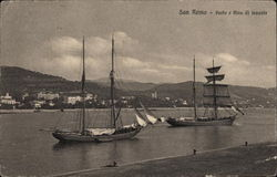 Ships at San Remo Harbor