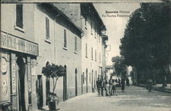 View of the street named Via Vecchia Fiorentina