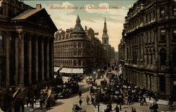 Mansion House and Cheapside