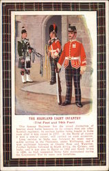 Scottish Soldiers from the Highland Light Infantry Regiments