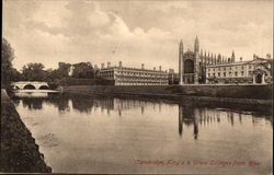 King's & Clare Colleges from RIver
