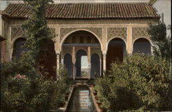 Generalife Palace in Granada