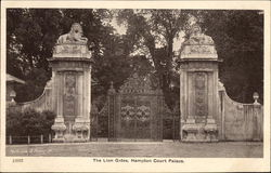 The Lion Gates, Hampton Court Palace