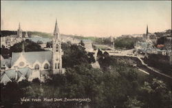 View from Mont Dore Postcard