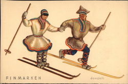 Two Norwegian Skiers