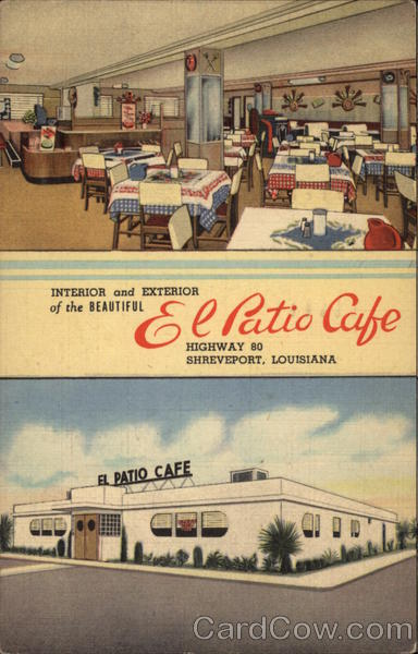 El Patio Cafe Interior And Exterior Shreveport La