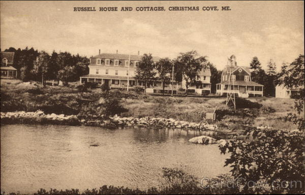 Russell House and Cottages Christmas Cove Maine