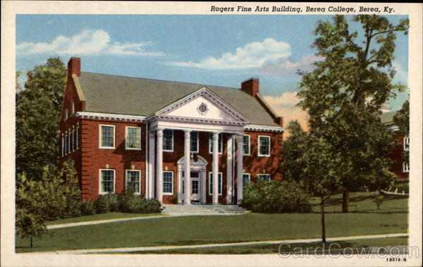 Rogers Fine Arts Building at Berea College Kentucky