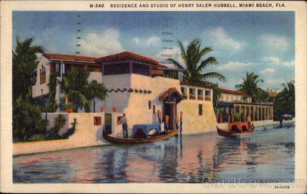 Residence and Studio of Henry Salem Hubbell Miami Beach Florida