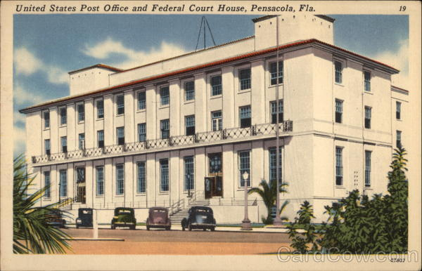 United States Post Office and Federal Court House Pensacola Florida