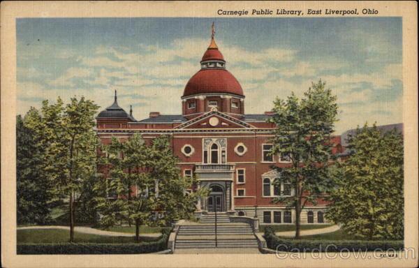 Carnegie Public Library East Liverpool Ohio