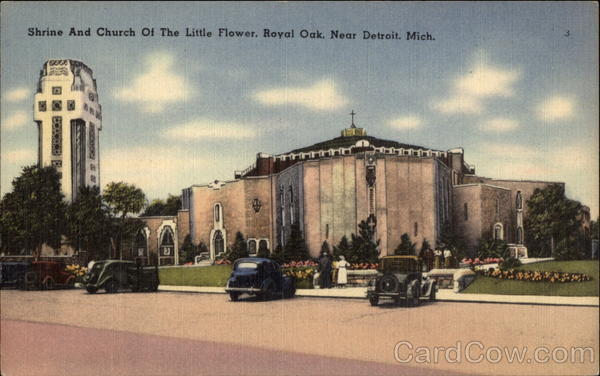 Shrine and Church of the Little Flower Royal Oak Michigan
