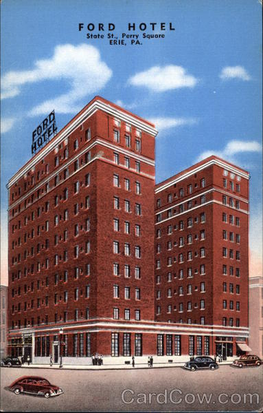 Ford Hotel Erie Pennsylvania