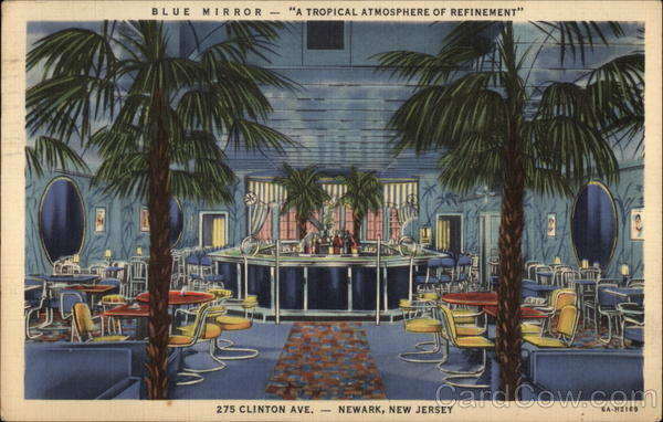 Blue Mirror - A Tropical Atmosphere of Refinement Newark New Jersey