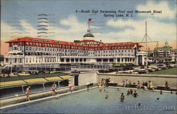 Swimming Pool And Monmouth Hotel Spring Lake Nj