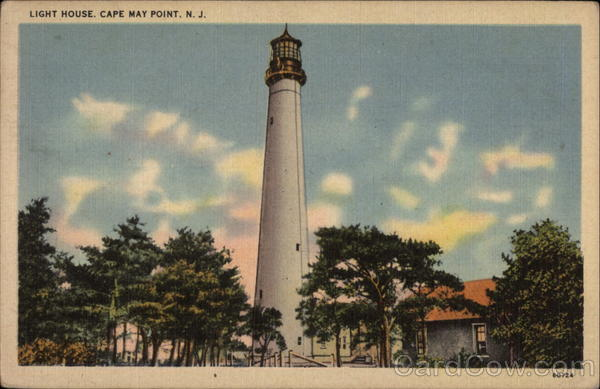 Light House, Cape May Point New Jersey