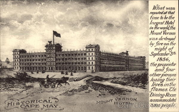 Mount Vernon Hotel Cape May New Jersey
