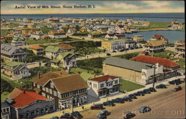 Aerial View of 96th Street Stone Harbor New Jersey