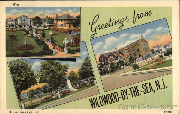 Various Views of Town Wildwood-by-the-Sea New Jersey