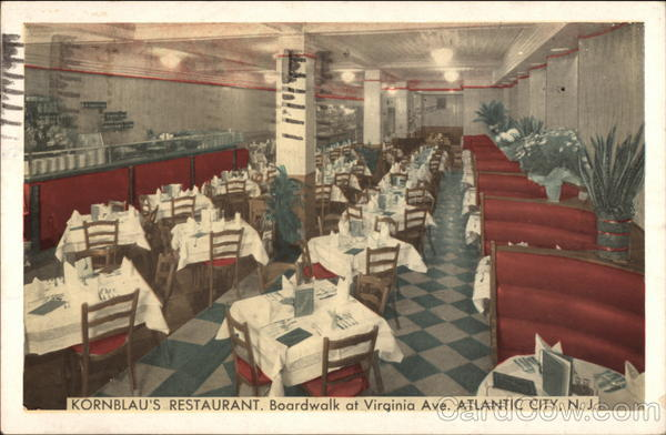 Kornblau's Restaurant Atlantic City New Jersey