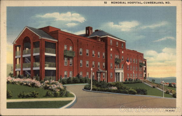 Memorial Hospital Cumberland Maryland