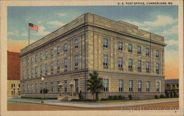US Post Office Cumberland Maryland