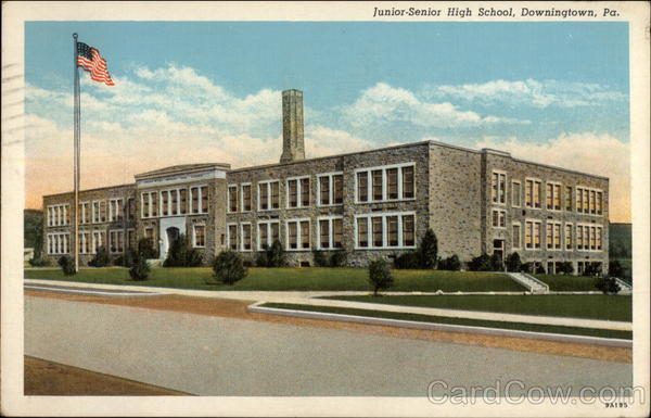 Junior-Senior High School Downington Pennsylvania