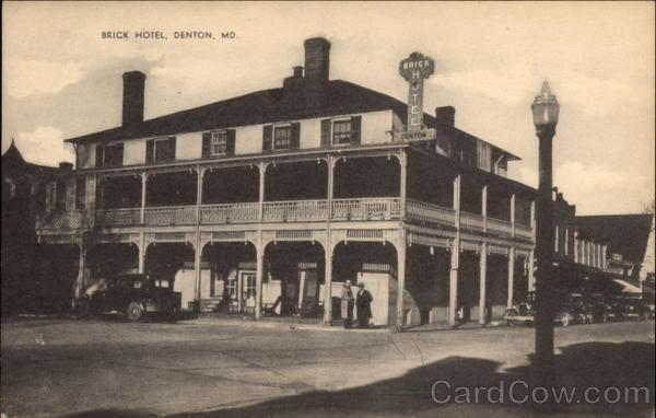 Brick Hotel Denton Md
