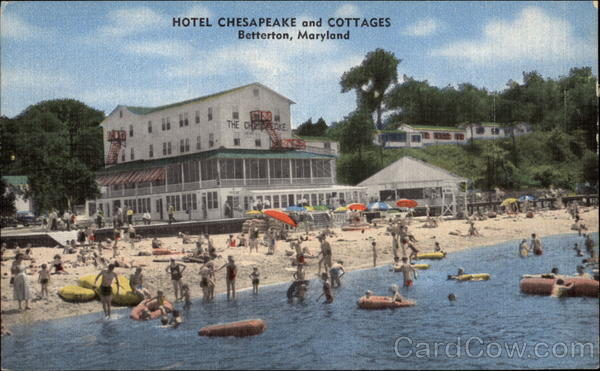 Hotel Chesapeake And Cottages Betterton Md