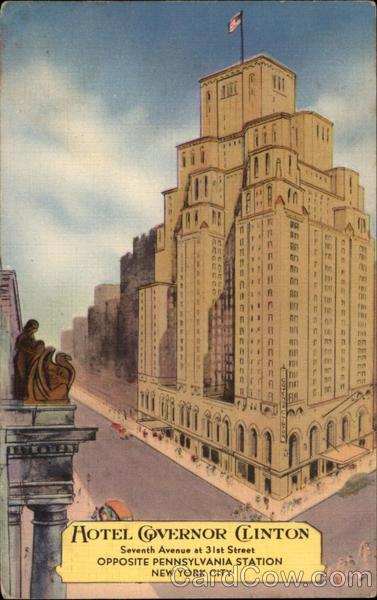 Hotel Governor Clinton New York Ny