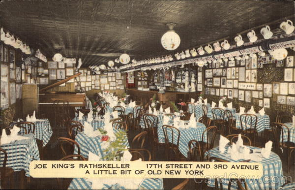 Joe King's Rathskeller New York