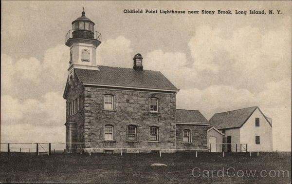 Oldfield Point Lighthouse Long Island New York